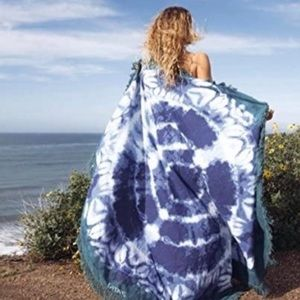 Gypsy 05 Anthropologie blue the dye roundie